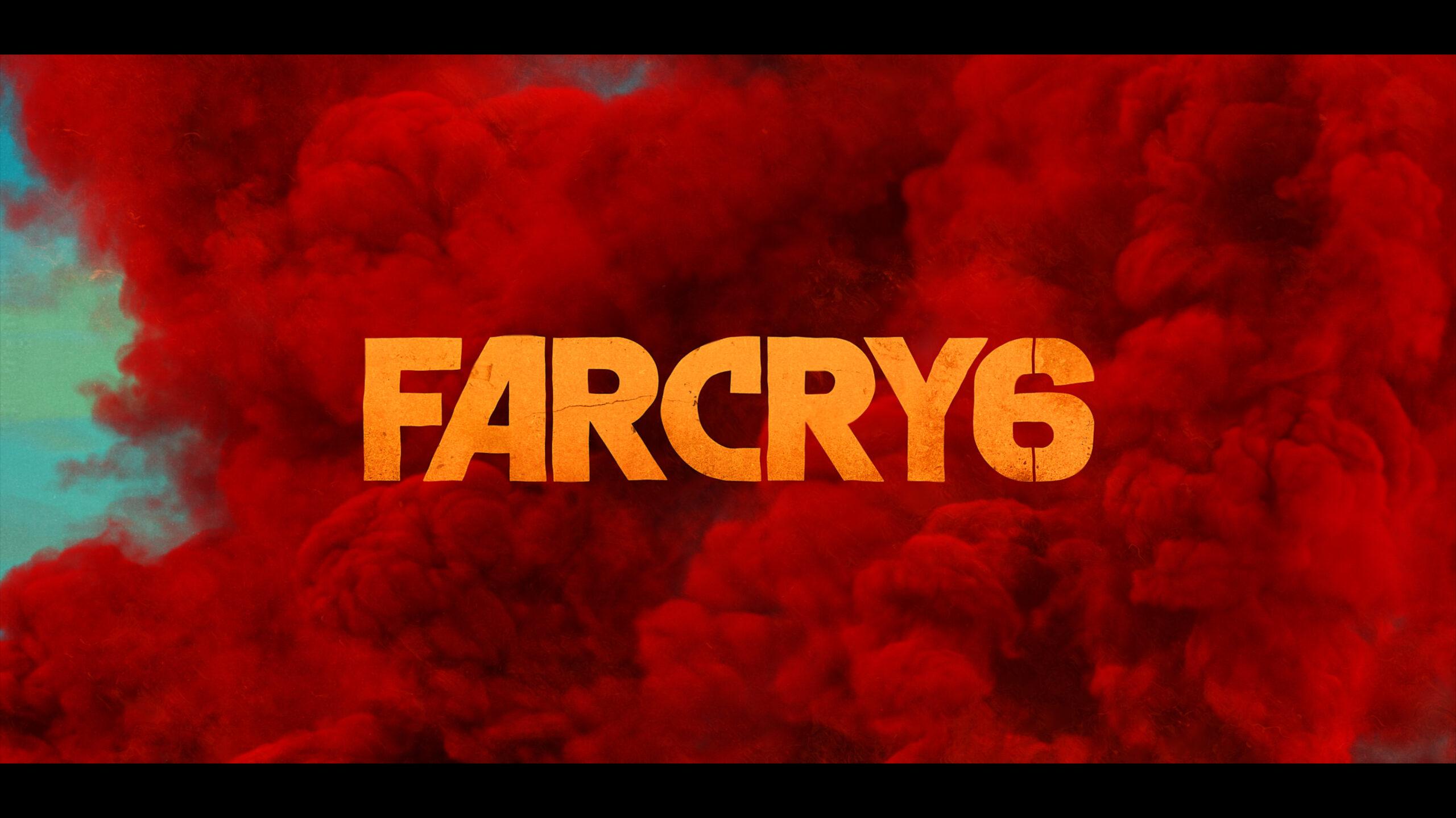 Far Cry 6 Logo Wallpaper