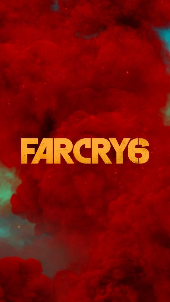 Far Cry 6 Mobile Phone Wallpaper Logo