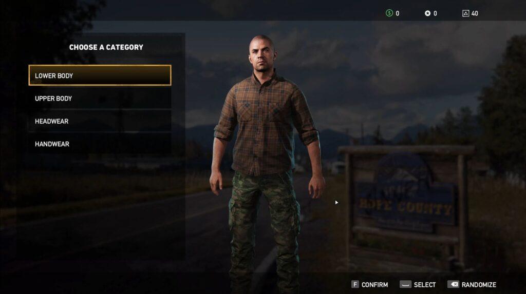 Fary Cry 5 Character Customization
