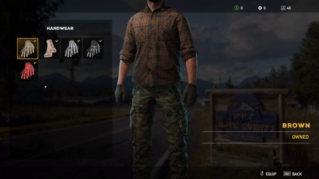 Fary Cry 5 Character Customization Gloves