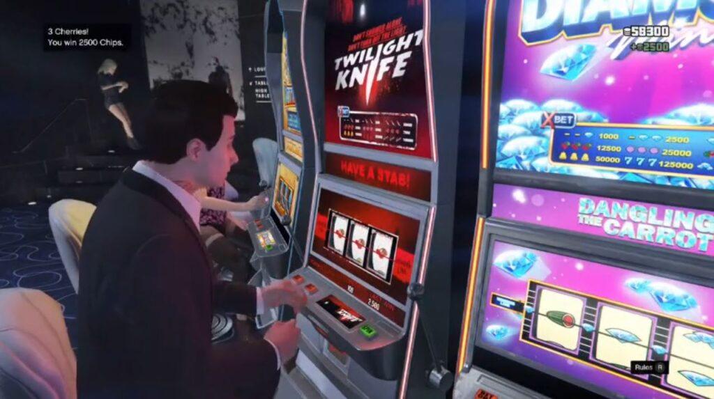 Grand Theft Auto Slot Machines