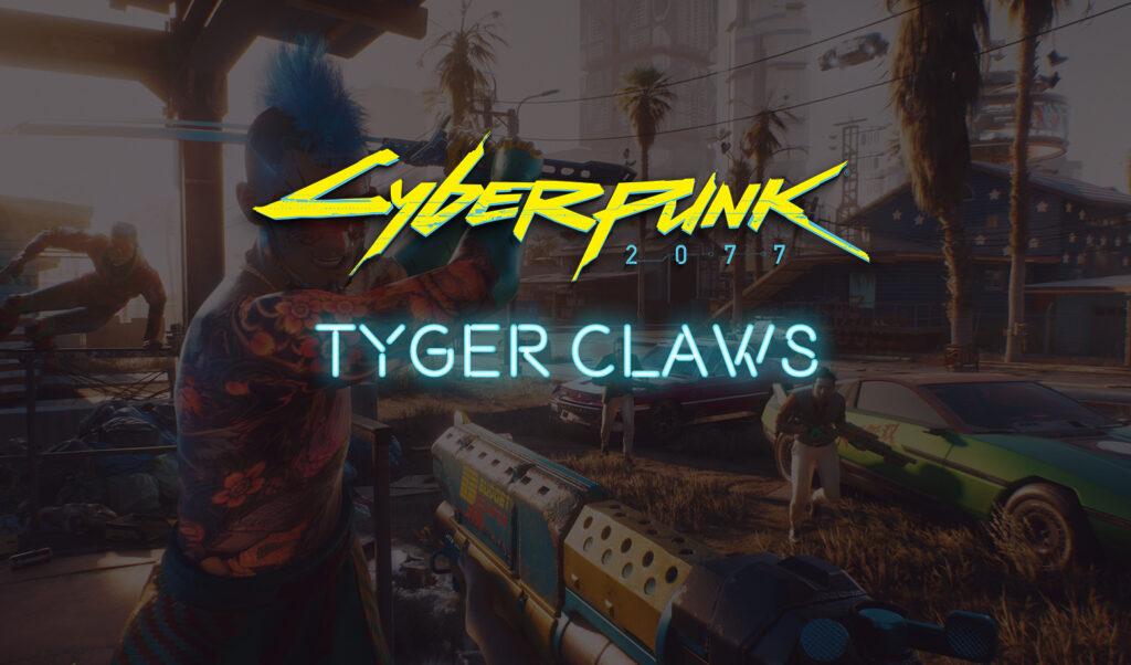Tyger Claws Cyberpunk 2077 Gang
