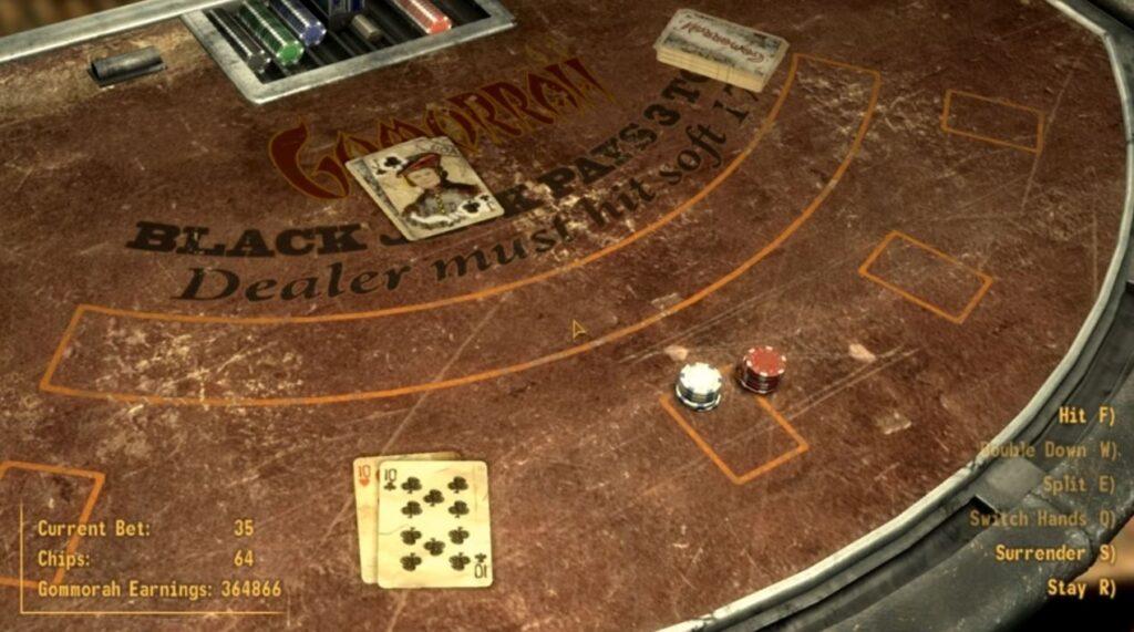Fallout New Vegas Gambling