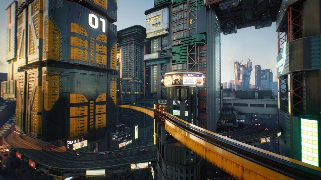 Cyberpunk 2077 Travel Transportation in Night City