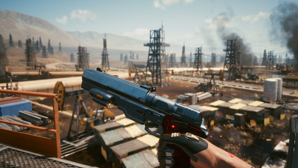 Cyberpunk 2077 Johnny's Gun