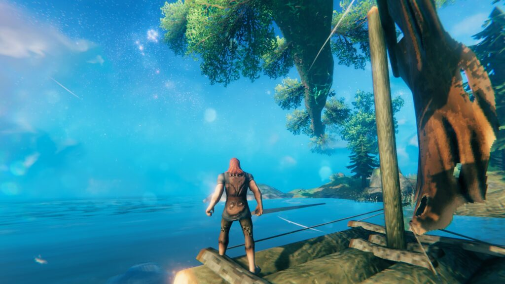 Valheim Guide Ships Raft How to Build and Sail