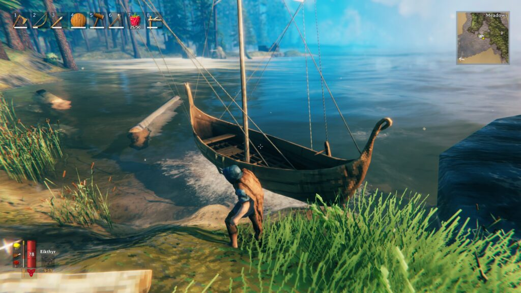 Valheim Guide Ships Karve How to Build and Sail