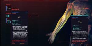 Cyberpunk 2077 Cyberware Guide Arms
