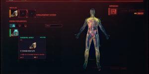 Cyberpunk 2077 Cyberware Guide Integumentary System
