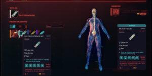 Cyberpunk 2077 Cyberware Guide Operating System