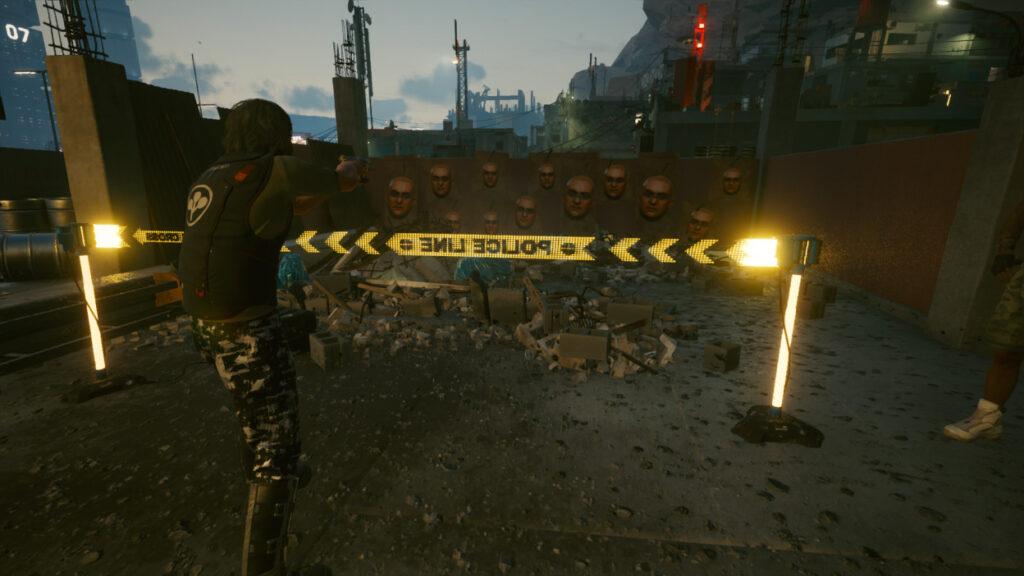 Cyberpunk 2077 Map Markers Guide Shooting Range