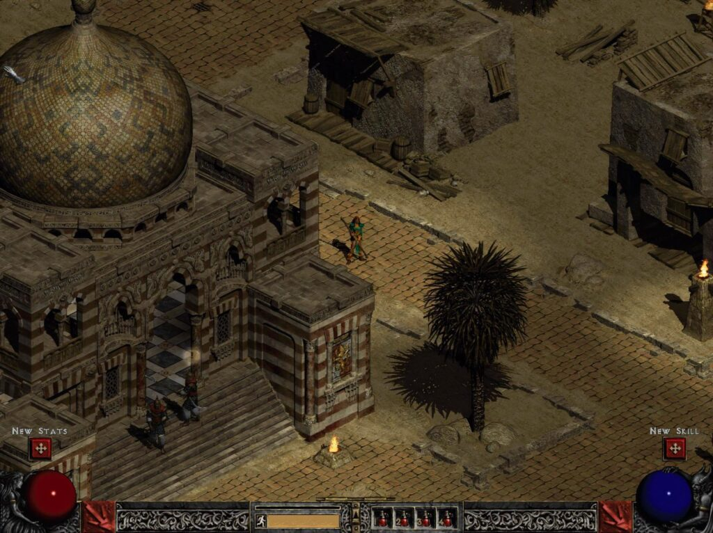 Diablo 2 Upscaled Screenshot