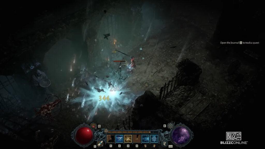 Diablo Iv Blizzcon Update Rogue Class Ice Arrows