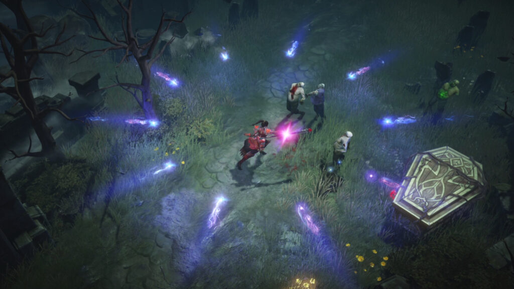 Diablo Immortal Will Have Large Scale Pvp Battles Graveyard Fight