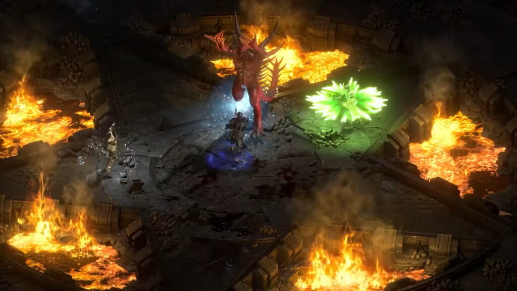 Diablo Qa At Blizzcon 2021 What We Learned About Diablo Ii Resurrected Killing Diablo Co Op