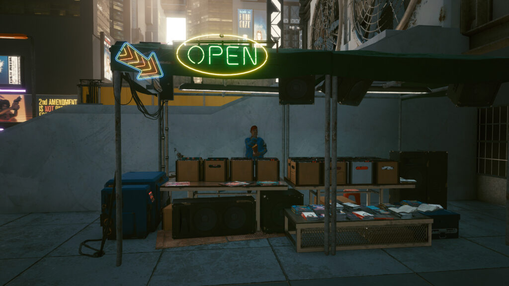 Fake Vendor Night City Cyberpunk That Could Have Been 1