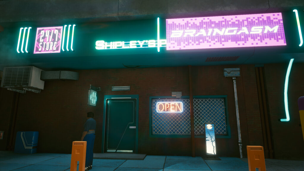Fake Vendor Night City Cyberpunk That Could Have Been 2