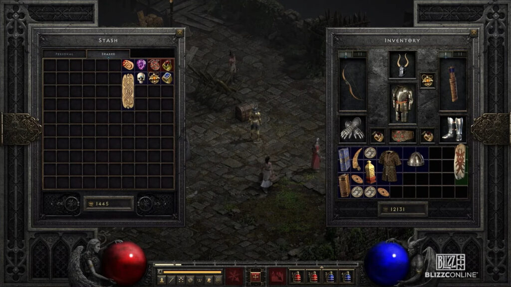 How Diablo Ii Resurrected Will Run Two Games At Once Authentic Experience