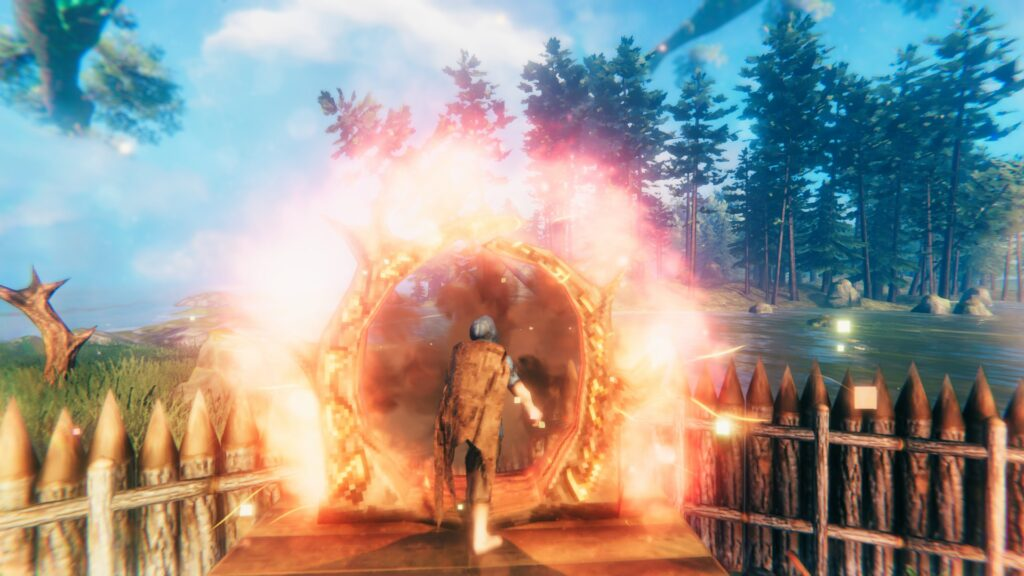 How To Craft And Use Portals Valheim Featured Image