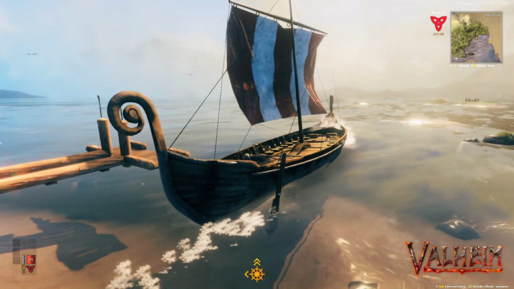 Valheim Ships Longship How to Build and Sail