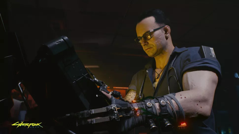 Crunch Cyberpunk 2077 Night City That Could Have Been
