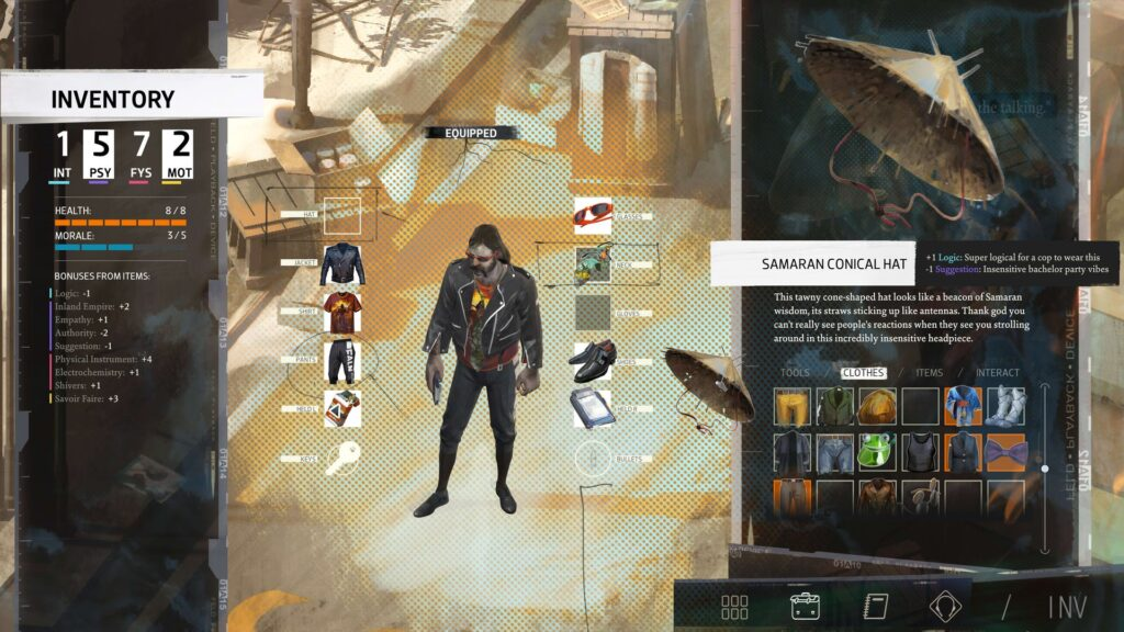 awesome outfit style you should play disco elysium final cut