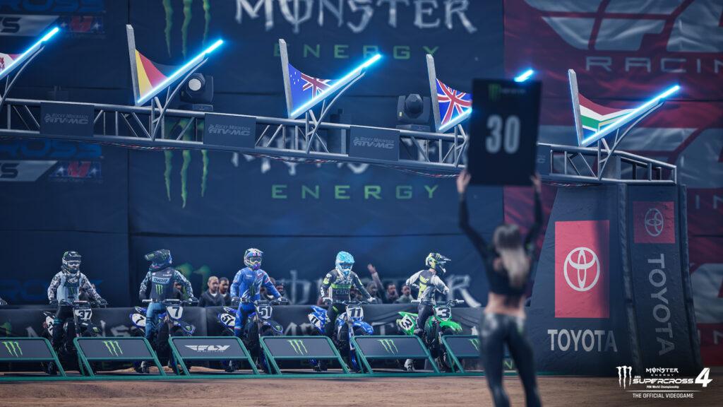 Supercross 4 Starting Gate