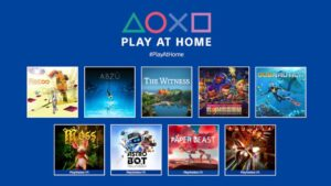 sony's play at home 10 free downloadable games this spring 2021