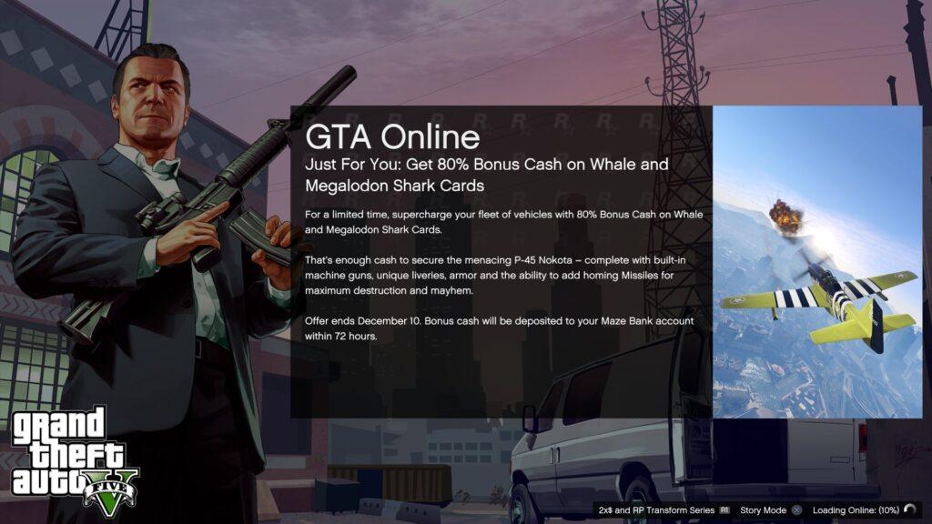GTA V Online Loading