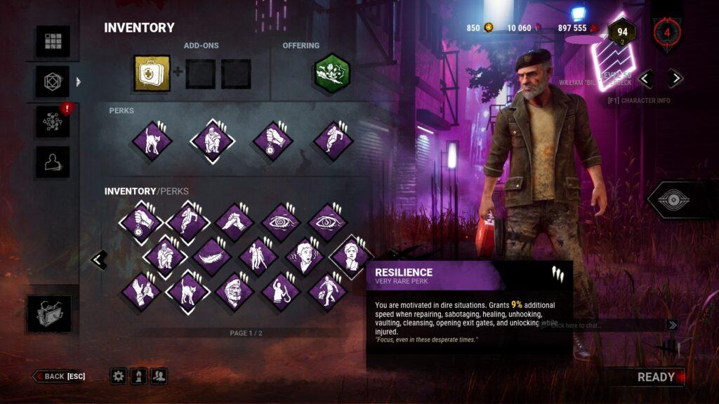 why ill play dbd until im dead perk menu 1
