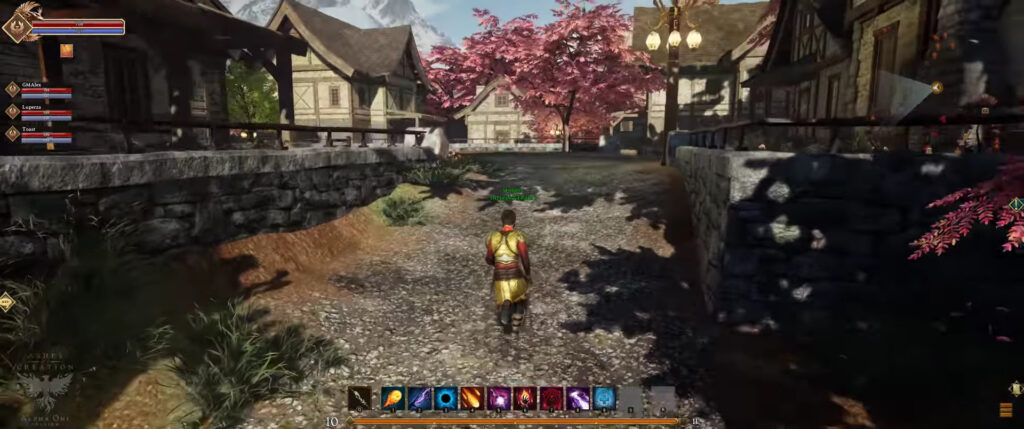 ashes of creation map size node settlement development