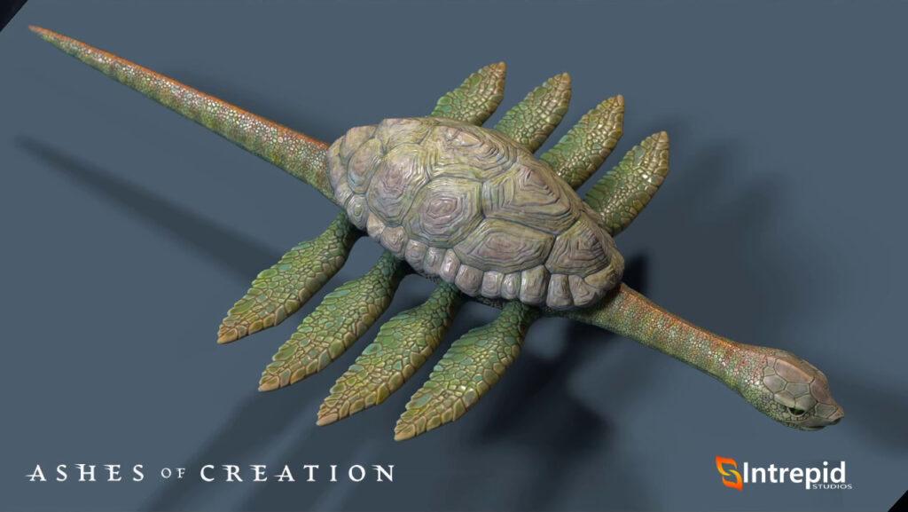 ashes of creation mounts aquatic mount tidesnapper