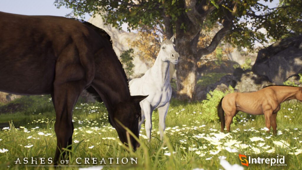 ashes of creation mounts horse