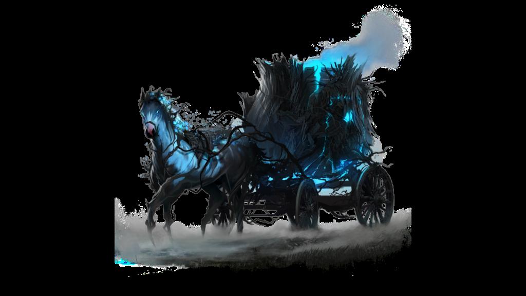 ashes of creation mounts the crumbled cauldron caravan skin