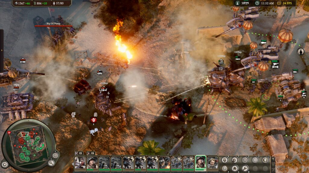 iron harvest operation eagle review explosions