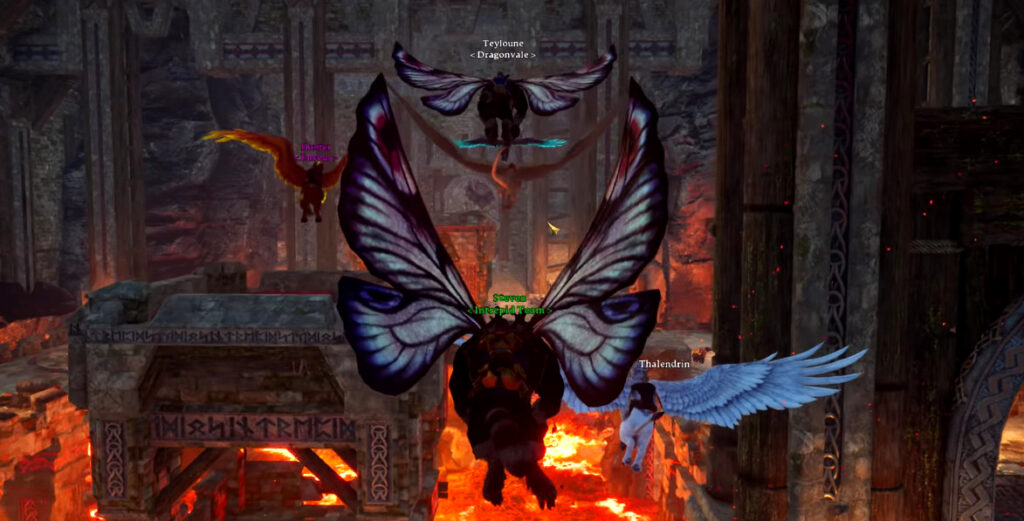 mounted combat attacking, swimming, flying, and other mount abilities in ashes of creation