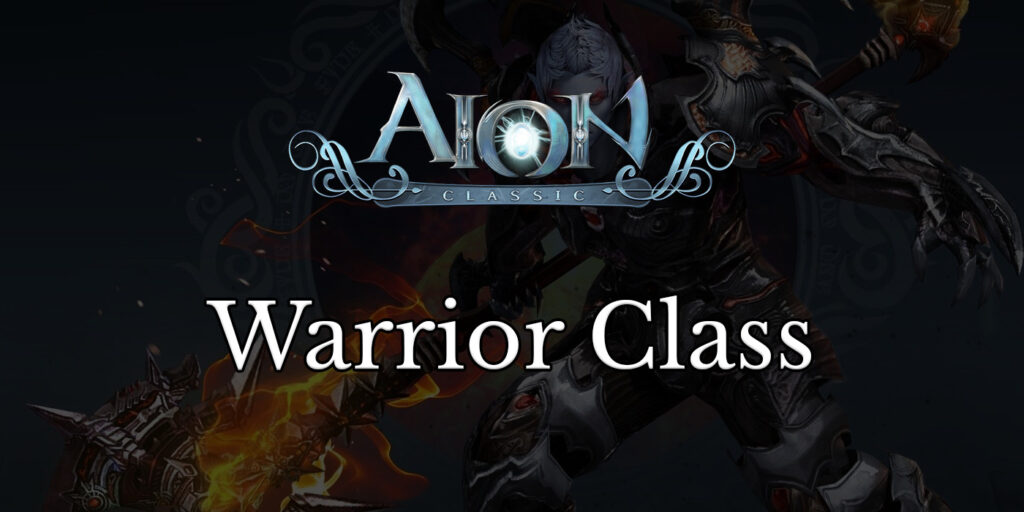 aion classic guides warrior class featured image