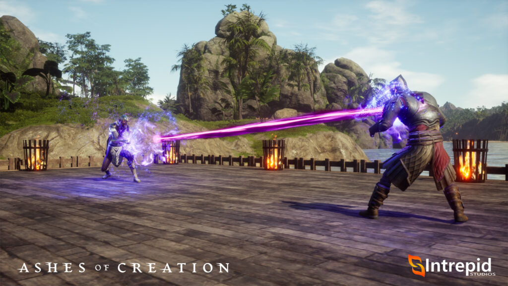 ashes of creation benefits of having it on steam