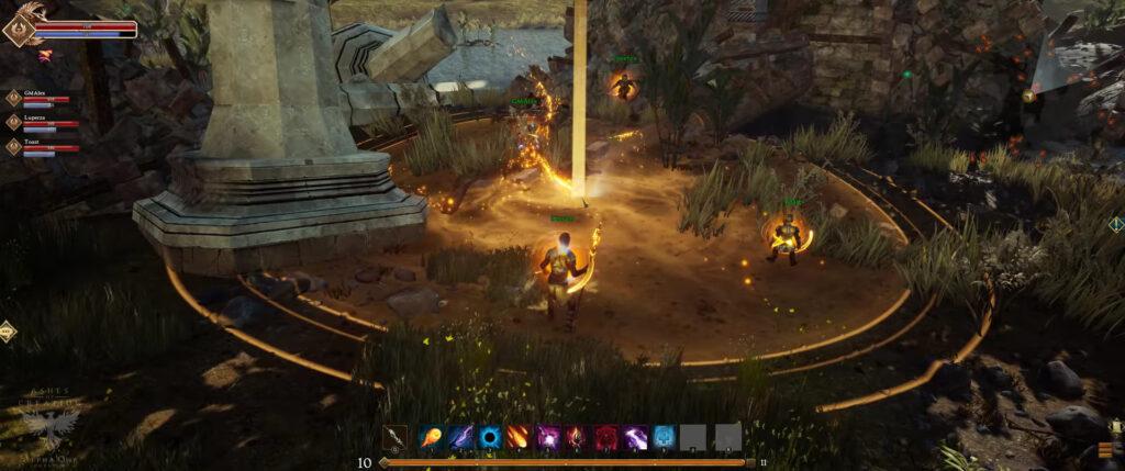 ashes of creation classes elemental skillset