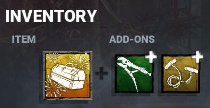 dbd inventory menu
