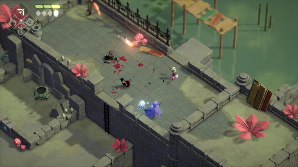 deaths door screenshot swamp action