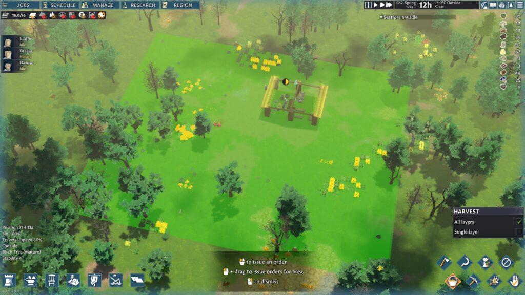 going medieval harvestable plants