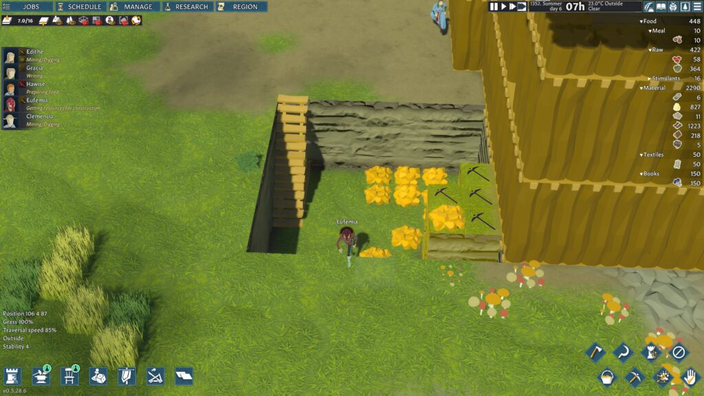 going medieval inacessible mining idle settlers