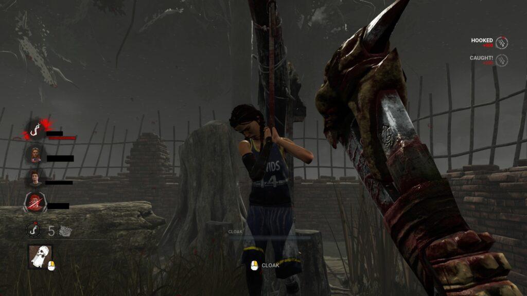 hooking survivors is good for bloodpoints grinding dbd killer 1