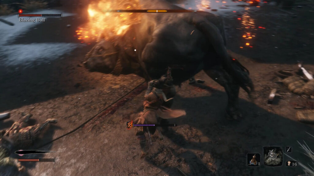how to beat blazing bull butt attack 1