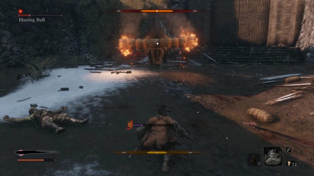 how to beat blazing bull butt fast way 1