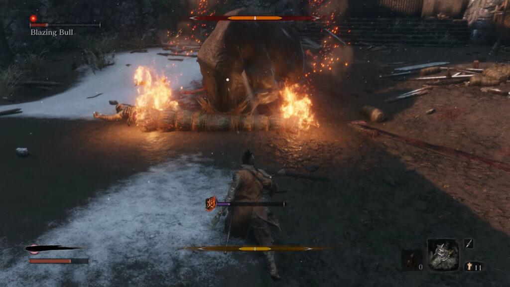 how to beat blazing bull butt fast way 2