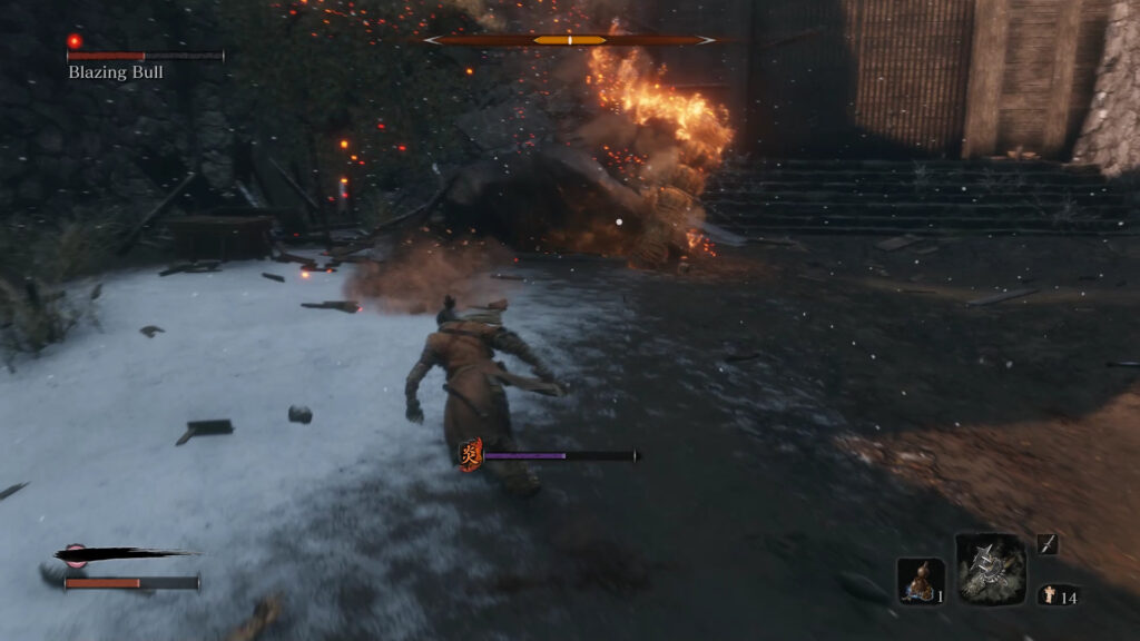 how to beat blazing bull turn example 1