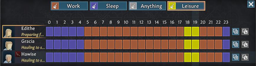 schedule going medieval