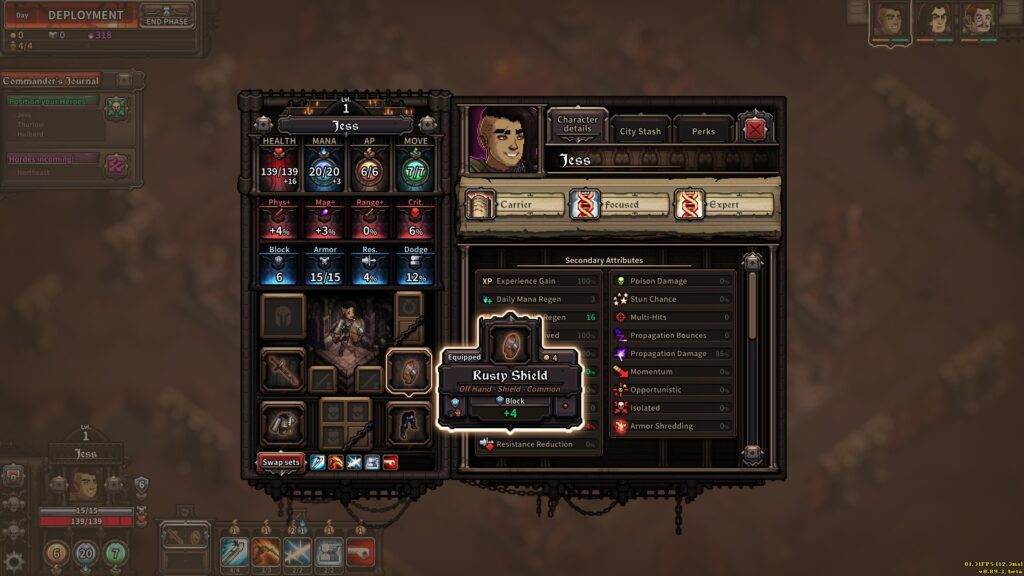 the last spell is now available in early access and its a blast character sheet